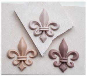 Fleur De Lis Architectural Style Moulding